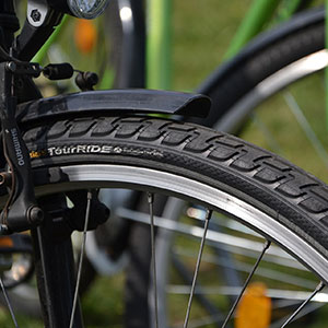 Image of bicycle tires